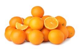 Pila de naranjas maduras imagenes de archivo