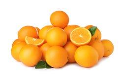 Pila de naranjas maduras foto de archivo libre de regalías