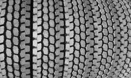 Pila de neumáticos Foto de archivo