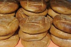 Pila de pan Fotografía de archivo libre de regalías