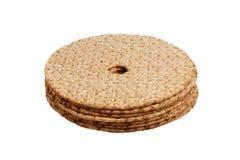 Pila de pan quebradizo fotos de archivo