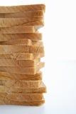 Pila de pan rebanado fotografía de archivo