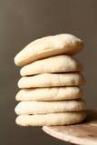 Pila de panes del pita Fotografía de archivo libre de regalías
