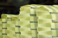 Pila de papel Fotos de archivo libres de regalías