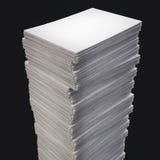 Pila de papel Foto de archivo libre de regalías