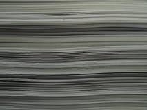 Pila de papel Fotografía de archivo libre de regalías