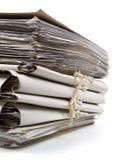 Pila de papeleo Imagenes de archivo