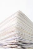 Pila de papeles Fotos de archivo libres de regalías