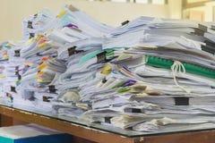 Pila de papeles Imagenes de archivo