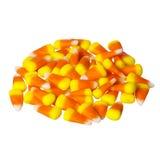 Pila de pastillas de caramelo para Halloween, aisladas Fotografía de archivo libre de regalías