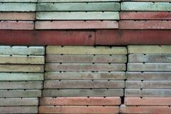 Pila de pavimentos Fotos de archivo libres de regalías