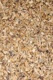 Pila de pedazos de madera para la cubierta de tierra estable imagen de archivo libre de regalías