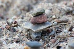 Pila de piedra fotografía de archivo