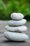 Pila de piedra Foto de archivo libre de regalías