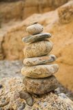 Pila de piedras Foto de archivo