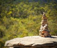 Pila de piedras Fotos de archivo libres de regalías