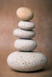 Pila de piedras Imagen de archivo libre de regalías