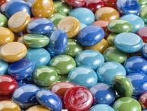 Pila de piedras coloridas Fotografía de archivo