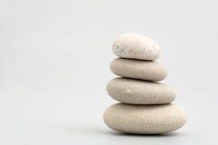 Pila de piedras de la arena Fotos de archivo