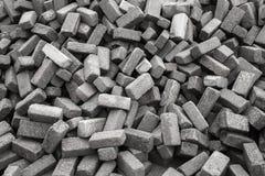 Pila de piedras grises ásperas Imagen de archivo
