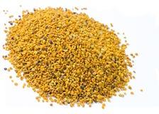 Pila de polen natural orgánico de la abeja Fotos de archivo