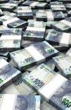 Pila de rand sudafricano Imagen de archivo libre de regalías
