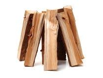 Pila de recorte de madera del fuego imagen de archivo libre de regalías