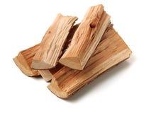 Pila de recorte de madera del fuego fotografía de archivo libre de regalías