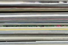 Pila de revistas Foto de archivo