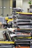 Pila de revistas Fotografía de archivo