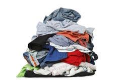 Pila de ropa fotos de archivo libres de regalías