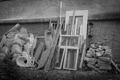 Pila de ruina de construcción Fotos de archivo libres de regalías