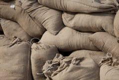 Pila de sacos Foto de archivo