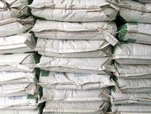Pila de sacos del Libro Blanco Foto de archivo libre de regalías