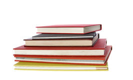 Pila de seis libros Foto de archivo libre de regalías