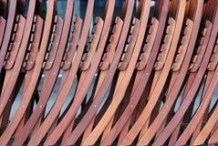 Pila de sillas Foto de archivo libre de regalías