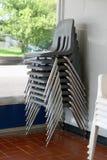 Pila de sillas Fotografía de archivo libre de regalías