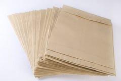Pila de sobres. Fotos de archivo