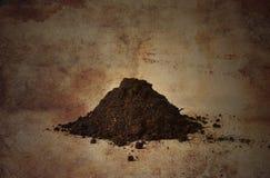 Pila de suelo Imagen de archivo libre de regalías