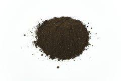 Pila de suelo de la humus del gusano Imagenes de archivo