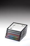 Pila de tarjeta de memoria Imagen de archivo libre de regalías
