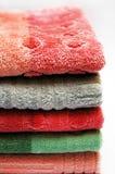 Pila de toallas Fotografía de archivo libre de regalías