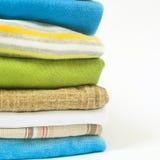 Pila de toallas imágenes de archivo libres de regalías