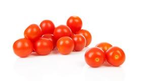 Pila de tomates de cereza Fotografía de archivo libre de regalías