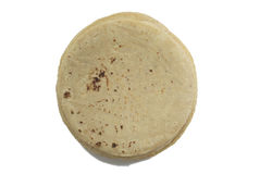 Pila de tortillas de la harina Fotografía de archivo libre de regalías