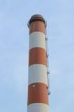 Pila de una central eléctrica Imagen de archivo libre de regalías