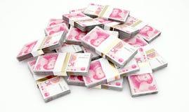Pila de Yuan Bank Notes libre illustration