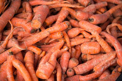 Pila de zanahorias Fotografía de archivo libre de regalías