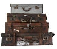 Pila dei bagagli Fotografie Stock Libere da Diritti