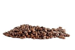 Pila dei chicchi di caffè Fotografia Stock Libera da Diritti